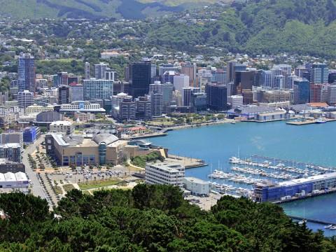 Wellington är huvustad på Nya Zeeland - Resor till Nya Zeeland